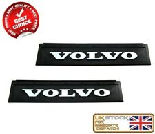 2X VOLVO TRUCK LORRY PAIR FRONT RUBBER MUD FLAPS MUDFLAPS 600x200 EMBOSSED LOGO