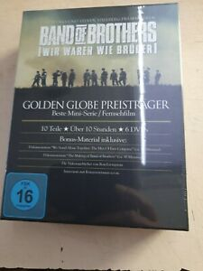 Band of Brothers-Wir waren wie Brüder.-komplette Serie [6 DVDs]-OVP