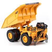 Diecast Mining Dump Truck 1:75 Scale Heavy Construction Vehicle Hobby Model
