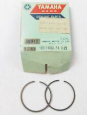 NOS YAMAHA 1968 1969 PISTON RING SET 1ST O/S 0.25 YAS1 AS2 183-11601-11
