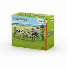 Slh41428 Schleich Cow Family on The Grassland Farm World