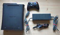 XB360 - Microsoft Xbox 360 Konsole Elite mit Original Controller (guter Zustand)