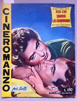 Cineromanzo PER CHI SUONA LA CAMPANA GARRY COOPER, INGRID BERGMAN, 1955-L5101