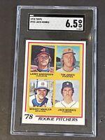 1978 Topps #703 SGC 6.5 Jack Morris Newly Graded