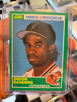 1989 Score Deion Sanders Atlanta Falcons #246 Football Card🔥🔥🔥🔥🔥