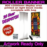 ROLLER BANNER  Pop Up/ Roll Up /Pull up Exhibition Display Stand roll up 1