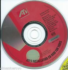 VINTAGE CD ROM ATI FOR VOBIS VIDEO PLAYER PER WINDOWS 95 3.1 NT 1996
