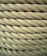 BY THE METRE 28MM 'EVERLASTO' POLYHEMP HEMPEX SYNTHETIC HEMP GARDEN DECKING ROPE