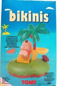 RARE VINTAGE 90'S TINKLE TOTS WATER SLIDE ISLAND 6006 BIKINIS TOMY NEW SEALED