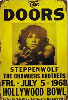 """Retro Blechschild """"The Doors"""" Auto KFZ Werkstatt Garage Tankstelle 20x30cm"""
