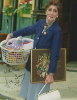 June Brown   **HAND SIGNED**  10x8 photo  ~  Eastenders  ~  AUTOGRAPHED