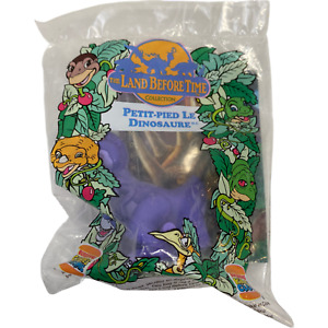 The Land Before Time Burger King Kids Club Meal Toy Chomper 1997 Wind-Up Sealed