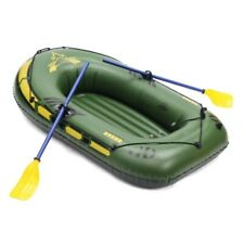 Inflatable Boat Raft River Lake Dinghy Pump Fishing Water-skiing Thickening  PVC