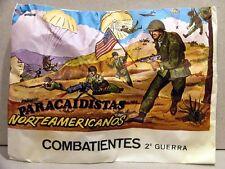 MONTAPLEX Sobre Combatientes PARACAIDISTAS NORTEAMERICANOS 2GM soldaditos airfix
