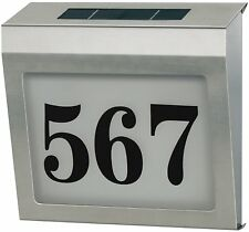 Brennenstuhl Solar Hausnummer Leuchte Hausnummernleuchte Beleuchtet IP44 PA-4592