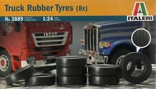 ITALERI 1:24 KIT TRUCK CAMION RUBBER TYRES GOMME ART 3889