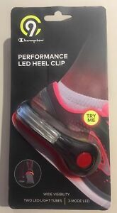Champion Performance LED Heel Clip #C19537BK NEW Shoe Light