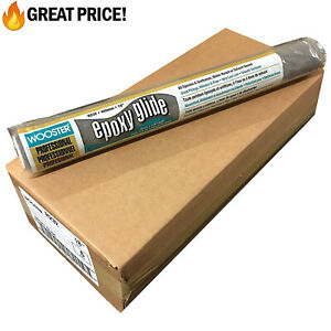 """Wooster Brush 18"""" Epoxy Glide Roller Cover 1/4"""" NAP, R232 Pack of 6 🎨"""