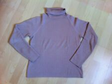 *** PULL A COL ROULE - KOOKAI - TAILLE 38 - ROSE POUDRE