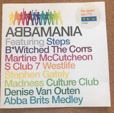 ABBAMANIA CD STEPS S CLUB 7 WESTLIFE CULTURE CLUB MARTINE MCCUTCHEON THE CORRS