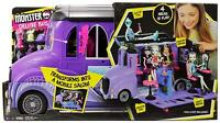 Mattel - Monster High - FCV63 - Deluxe Bus and Mobile Salon Toy Playset