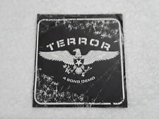 TERROR 4 Song Demo CD Hatebreed Sick Of It All Earth Crisis hardcore