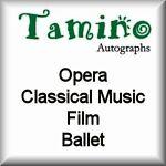 Tamino Autographs