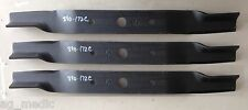 """Set of 3 Blades for Land Pride 72"""" Cut Finish Mowers, Code 890-172C"""