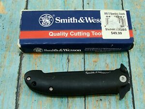 SMITH & WESSON KNIVES HRT SWHTTMGBS FOLDING TACTICAL POCKET KNIFE CUTTING TOOLS