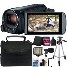 Canon Vixia HF R800 Full HD Camcorder Black 57x Advance Zoom with Accessory Kit