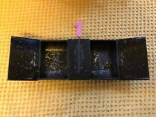 More details for antique victorian toleware cash tin insert with hidden compartment