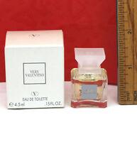 Very Valentino by Valentino for Women EDT Splash Mini .15 oz / 4.5 ml New in Box