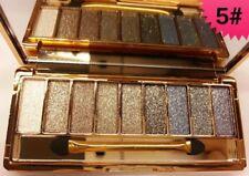 9 Colors Shimmer Diamond Eyeshadow Palette Set Waterproof Beauty Make Up UK 5