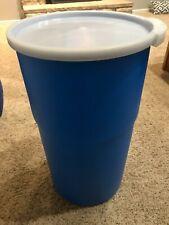 14 gallon plastic barrel- Emergency Food Storage