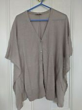The White Company Linen Blend Cardigan Xs
