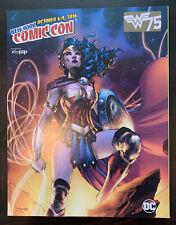 New York Comic Con 2016 Convention Program Wonder Woman Jim Lee Anniversary NYCC