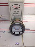Dwyer Photohelic Pressure Switch/Gage W21T 0-15 Max Pressure 25 PSIG *New*