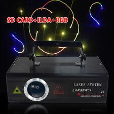 500mW DMX Bühnenlicht Animation Beam Laser Show Stage Licht Bühnenbeleuchtung DE
