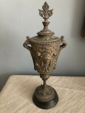 Antique Cast Metal Urn