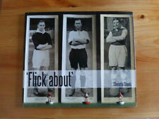 FLICK ABOUT action now play old style subbuteo calcio vintage BOOK ultras foto