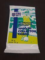 1990-91 English Premier League Pro Set UK Football Cards Sealed Pack 9 Cards