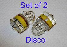 Set of 2, Diamond LED DISCO lights, deep drop swordfish fishing Squid, USA ship