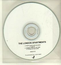 (CW284) The London Apartments, Streetlights Are Soldiers - DJ CD