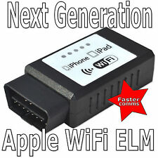 Wifi ELM327 OBDII Diagnóstico Escáner Inalámbrico Táctil Apple Iphone Ipad