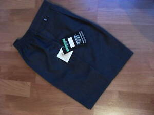 """STURDY FIT GREY SCHOOL SHORTS - AGE 7/8 UPTO 42"""" WAIST -(NOW AVAILABLE IN BLACK)"""
