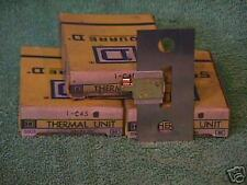 Square D Thermal overload units  C45  3 pieces NOS