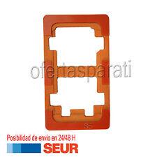 MOLDE PARA REPARACION PEGAR CRISTAL A PANTALLA LCD PARA SAMSUNG GALAXY S5 I9600
