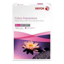 XEROX colore Impressioni A4 120GSM carta per Stampanti 500 fogli (1 RISMA )