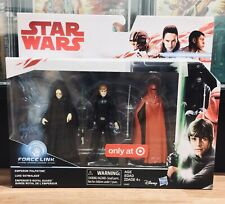 💥 Target Exclusive - Luke Skywalker, Emperor - 3-pack Star Wars Force Link