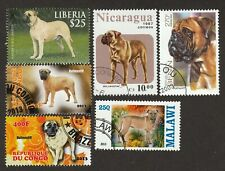 Bullmastiff * Int'l Postage Stamp Collection *Great Gift Idea*